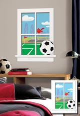 SoccerPractice Window Mega サッカープラクティス ウィンドウ