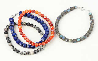 Sangini:Men's stone Jewelry collection
