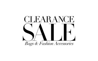 Clearance Bags & Fashion Accessories