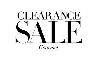Clearance Gourmet