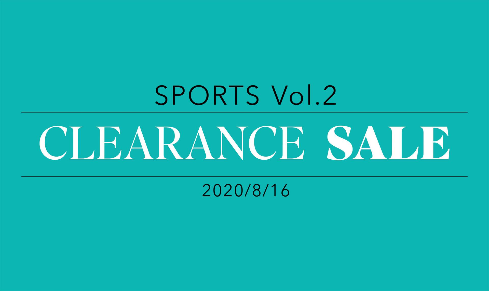 Clearance sale : Sports vol.2